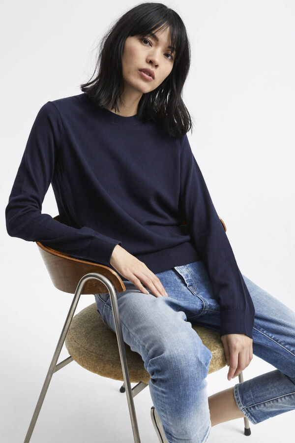 TAYLOR CREW NECK Brushed Jersey - Regular Fit