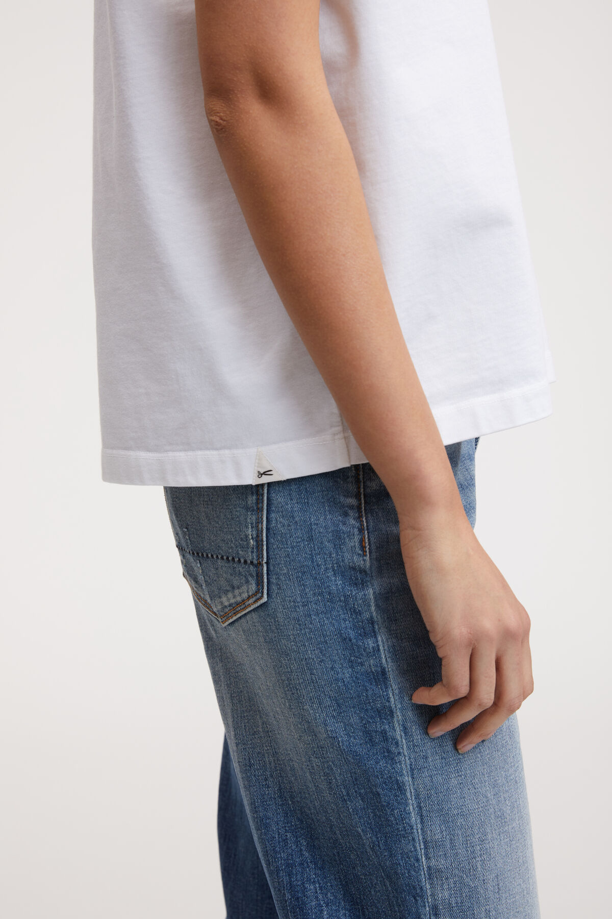 JANE TEE Heavy Cotton Jersey - Boxy Fit