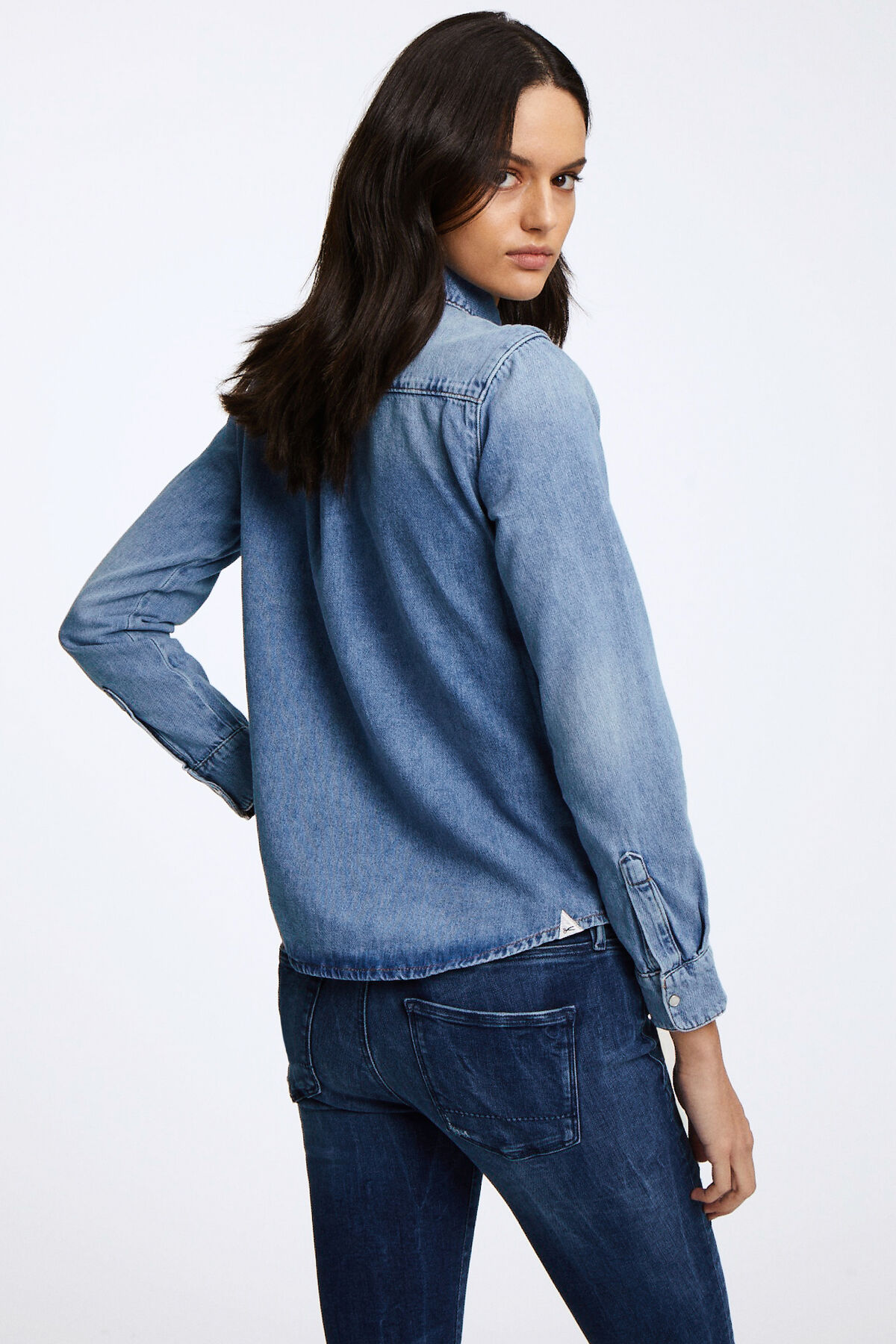 JESSIE SHIRT Soft Touch Denim - Regular Fit