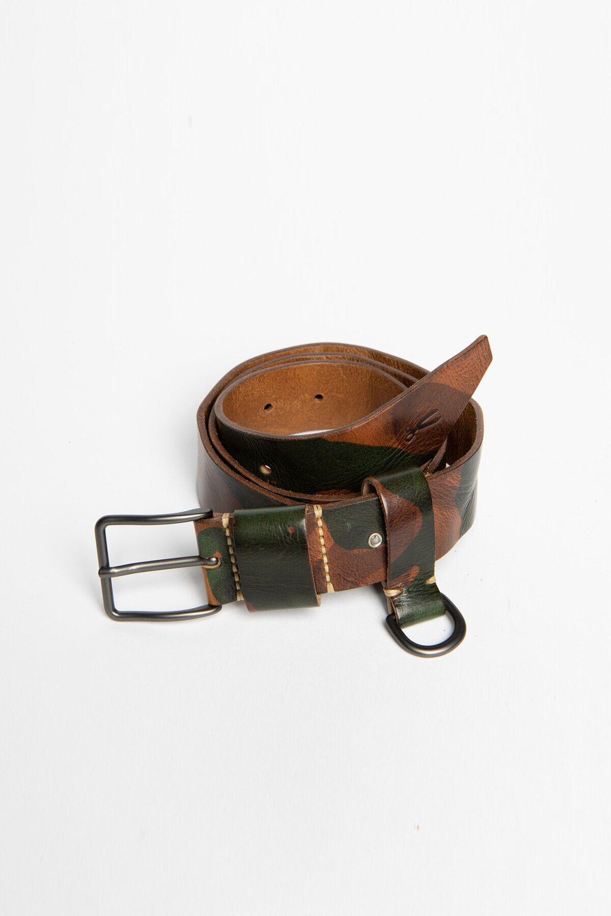 35MM BELT Camo Full-Grain Leather