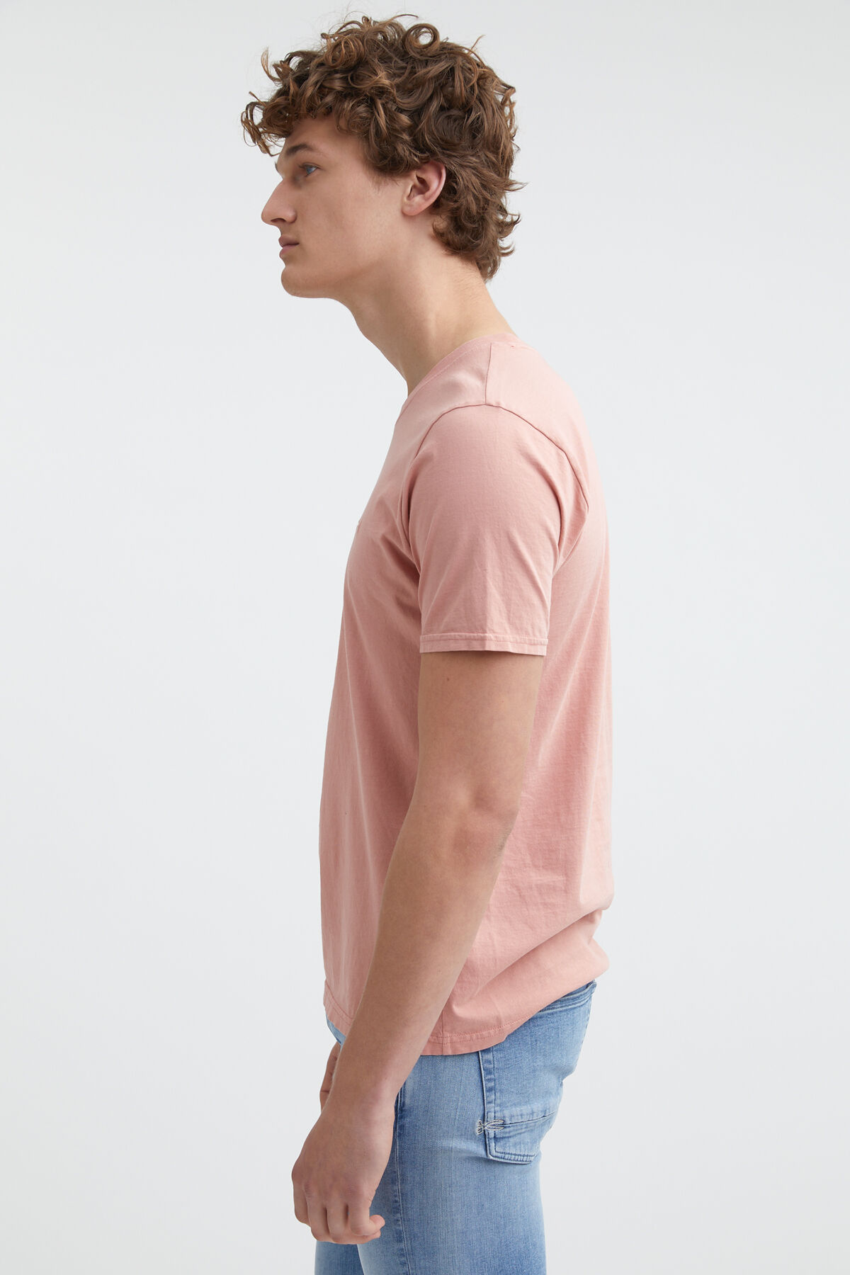 CREW TEE Embroidered Logo - Slim Fit