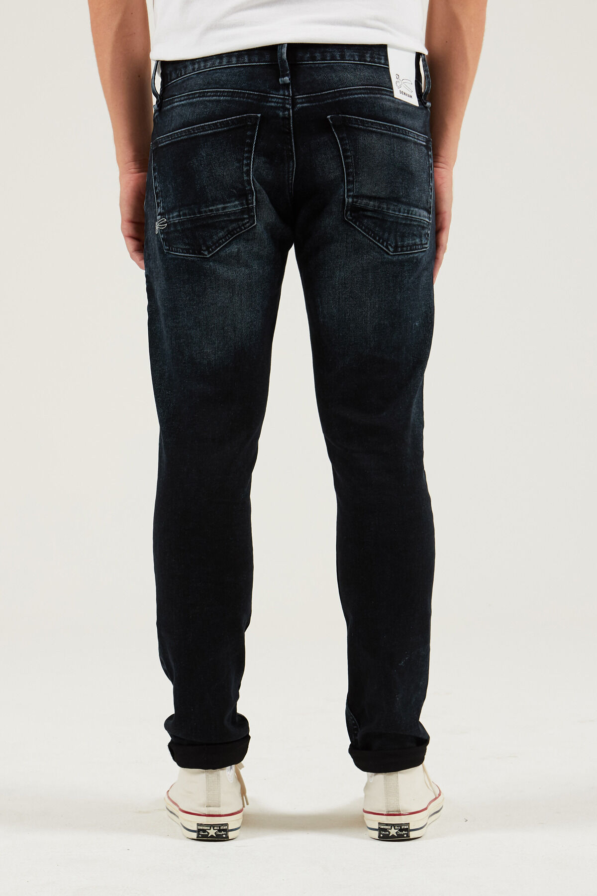 YORK Blue-black, blue fade - Slim, Tapered Fit