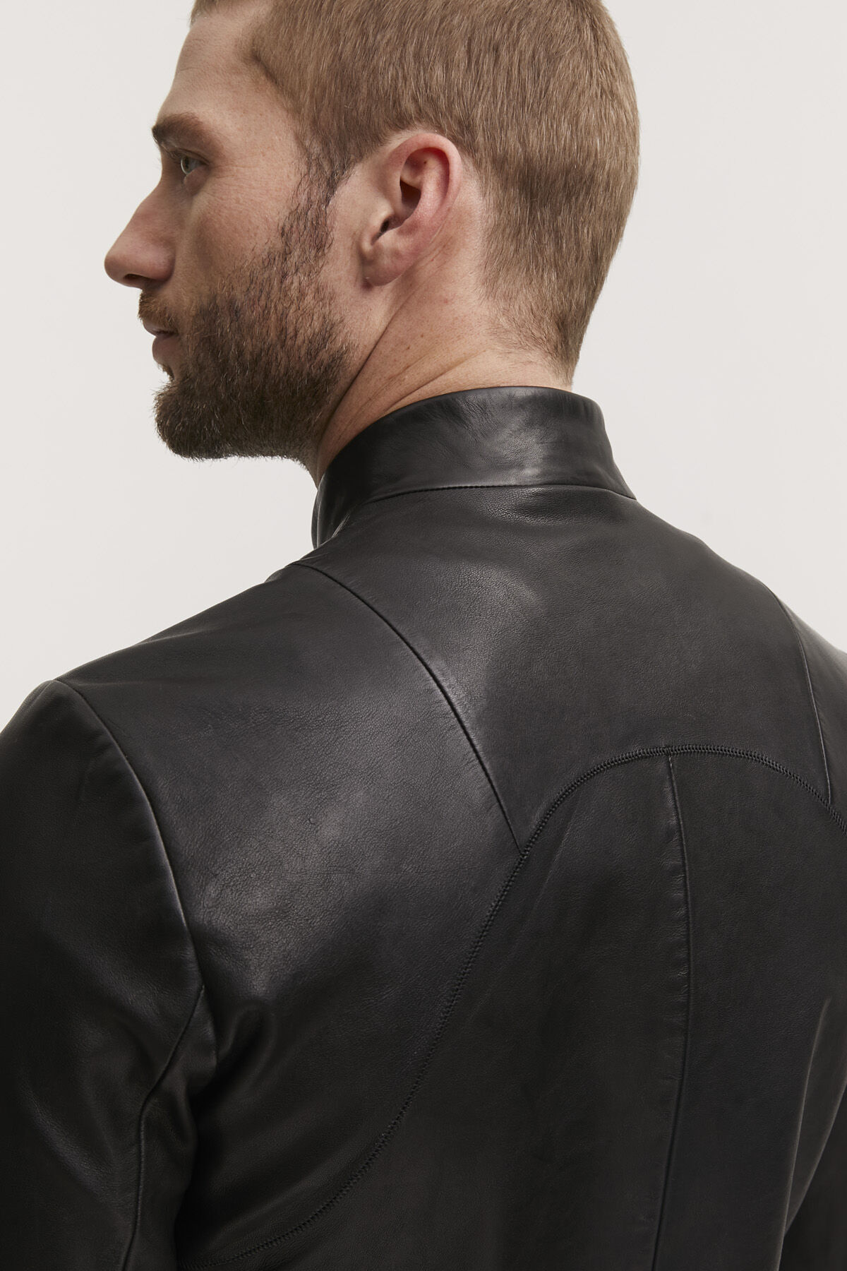 DRIFTER JACKET Premium lamb leather - Slim FIt