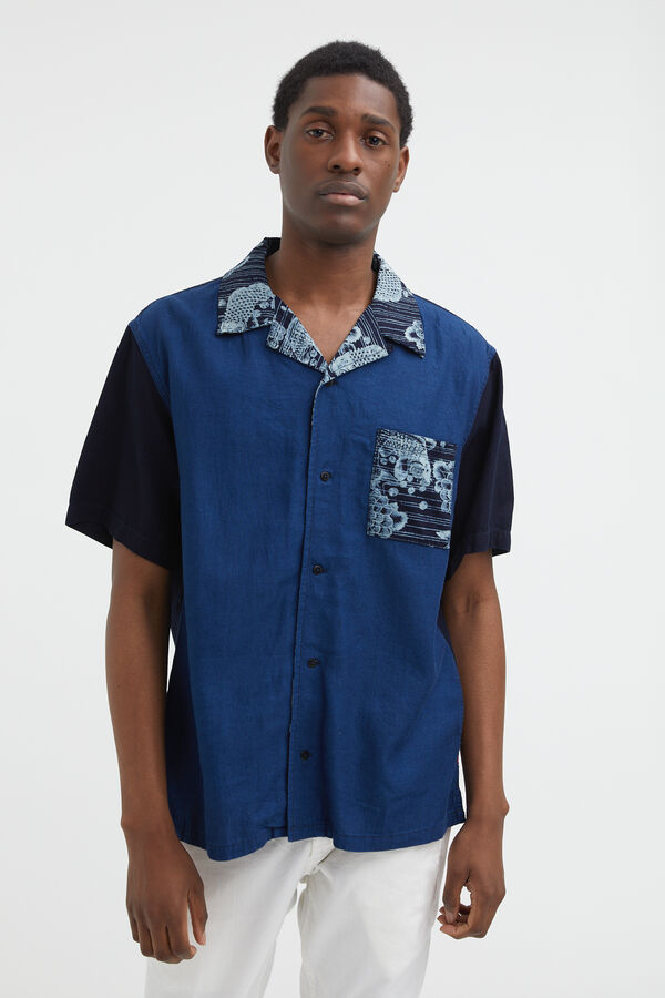 BOWLING SHIRT SS Koi Carp Pirnt - Oversized Fit