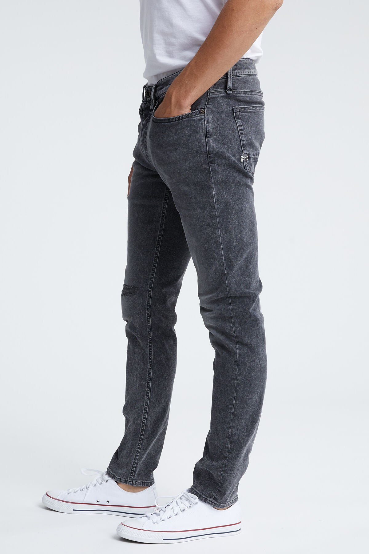 BOLT Three-Year Grey Denim - Skinny Fit