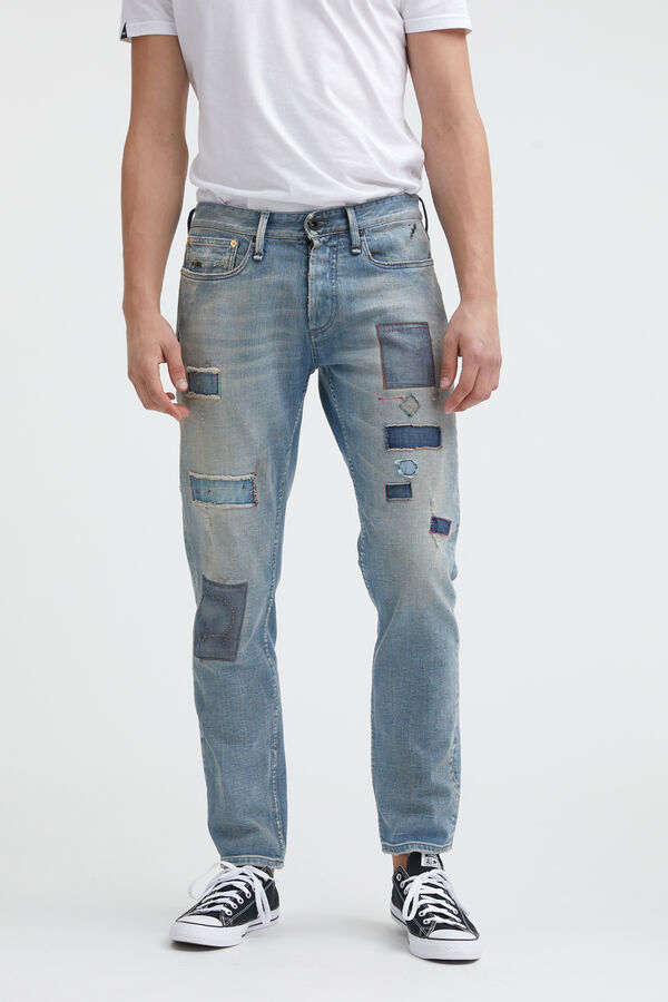 RAZOR GOTS Cotton & Recycled Elastane Denim - Slim Fit