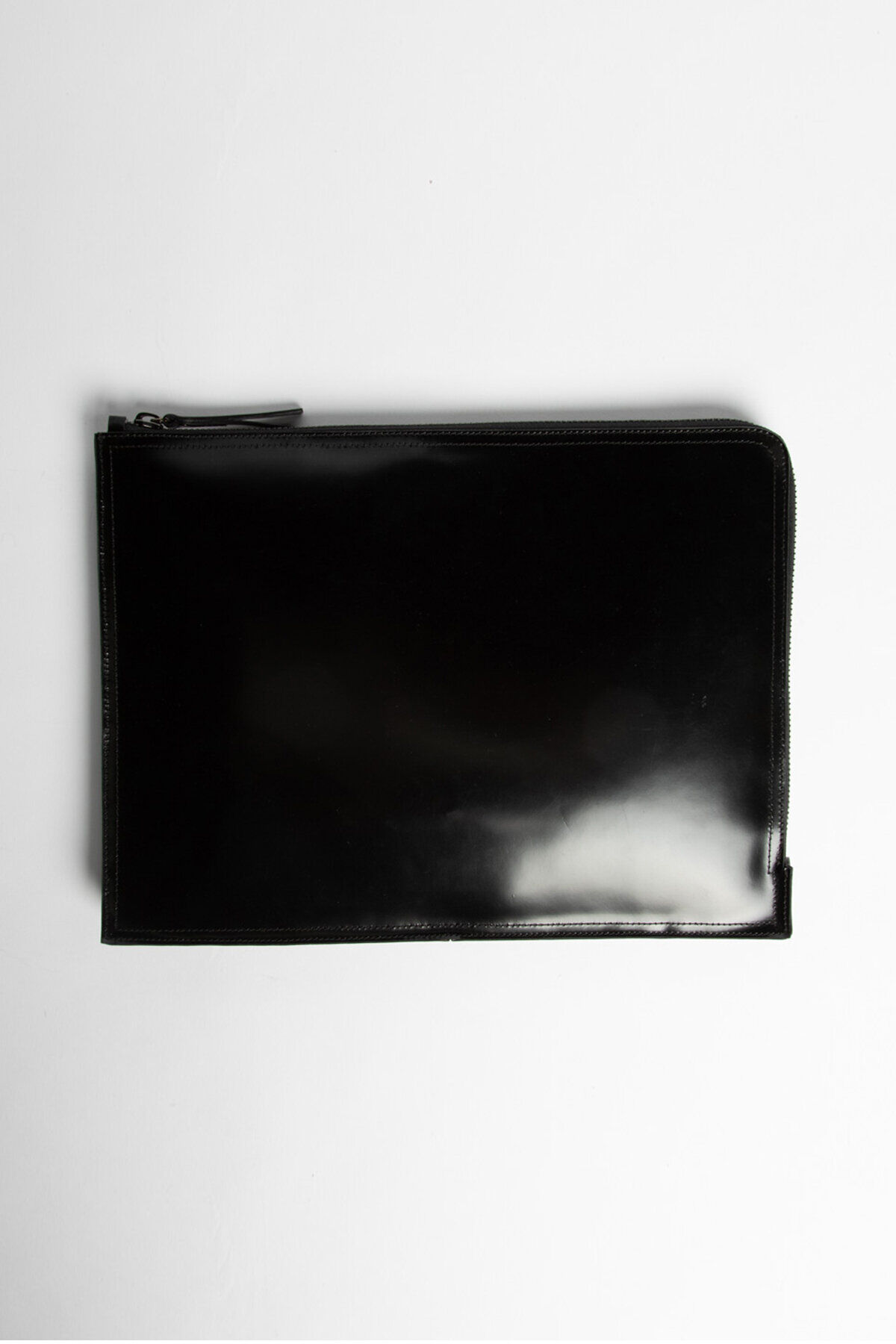 MACBOOK COVER Full-Grain Patent Leather