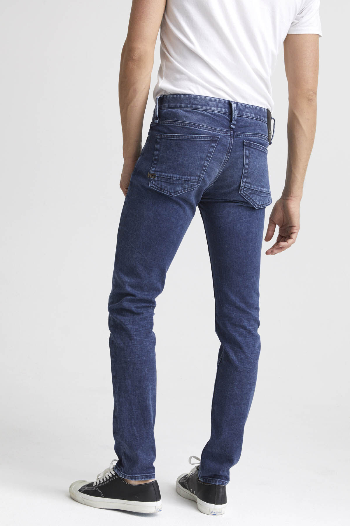 BOLT Left-Hand, Deep Indigo Denim - Skinny Fit