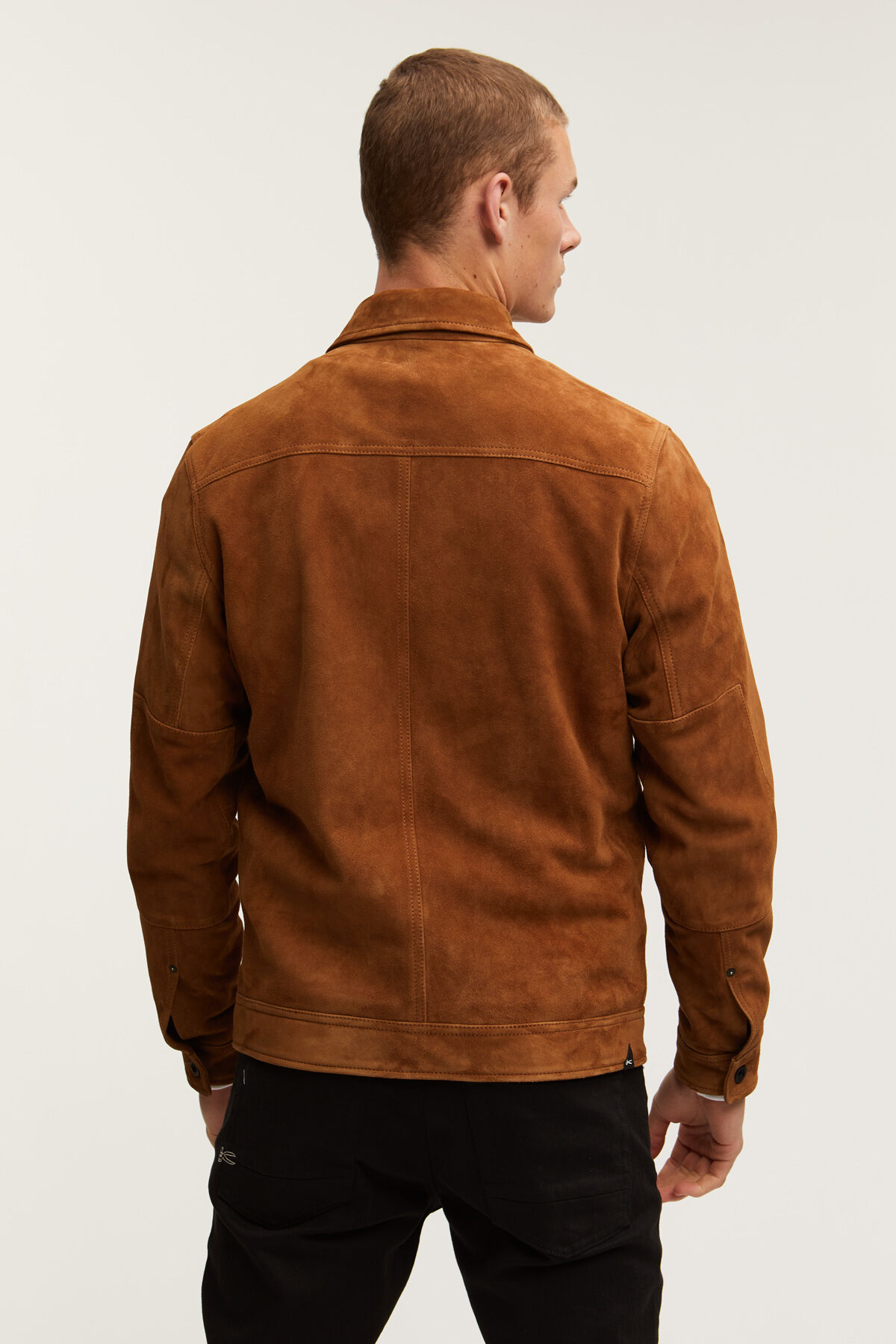 WINSTON SUEDE JACKET Chrome-Free Goat Suede - Boxy Fit