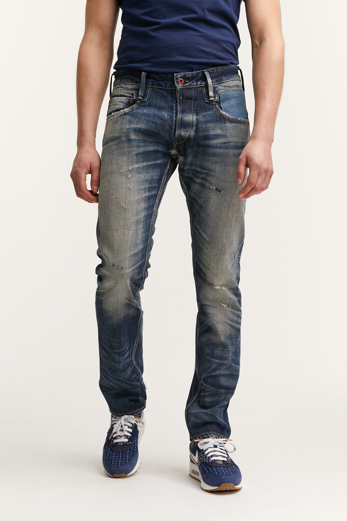 SKIN Made in Japan, Indigo Selvedge Denim - Slim Fit