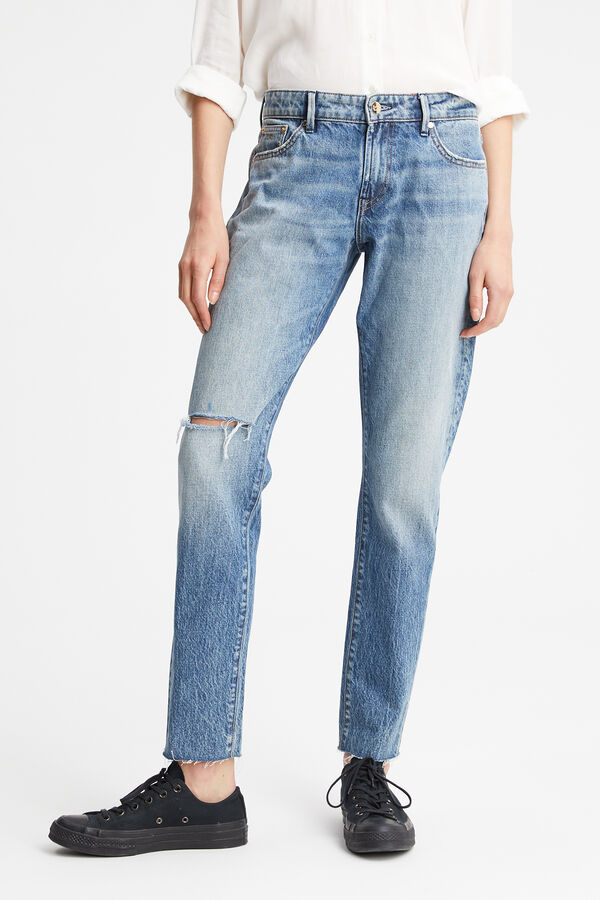 MONROE 90s Denim Wash - Girlfriend Fit