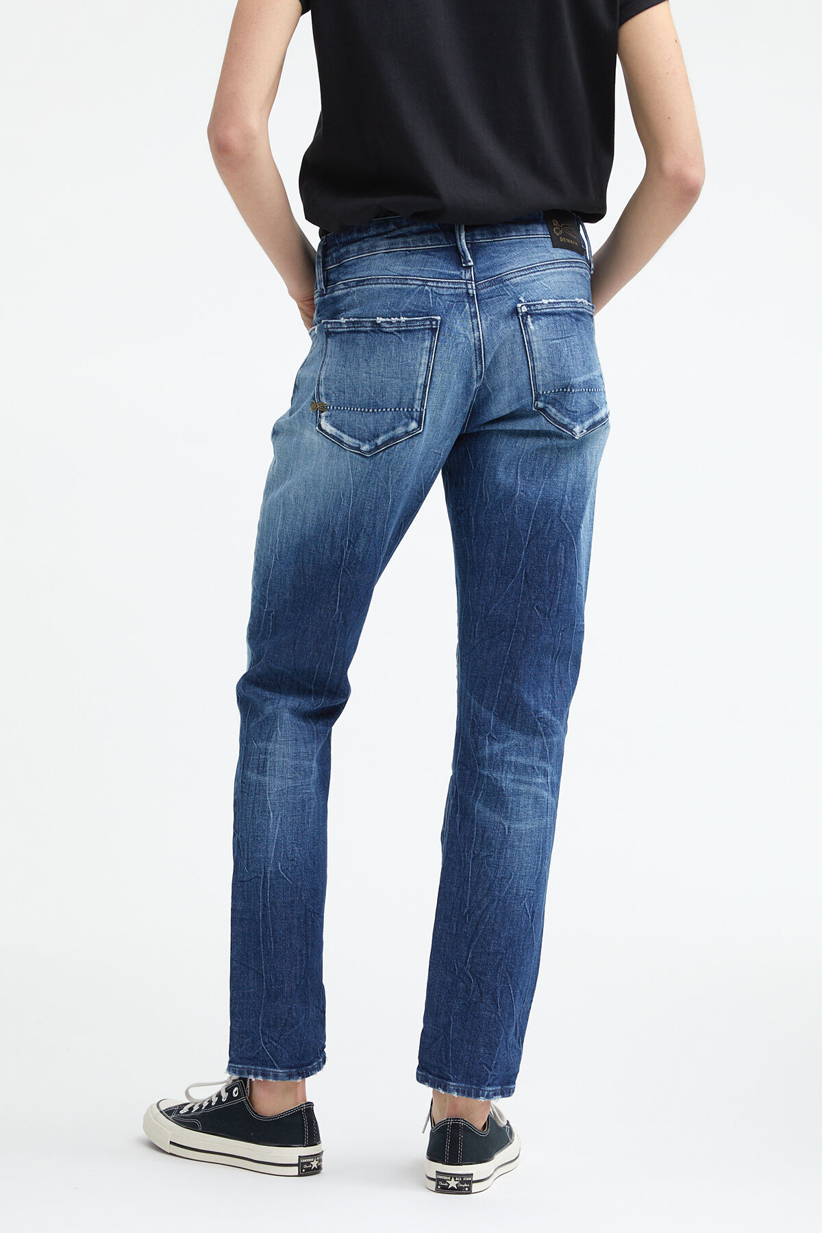 MONROE Indigo sustainable denim - Girlfriend Fit