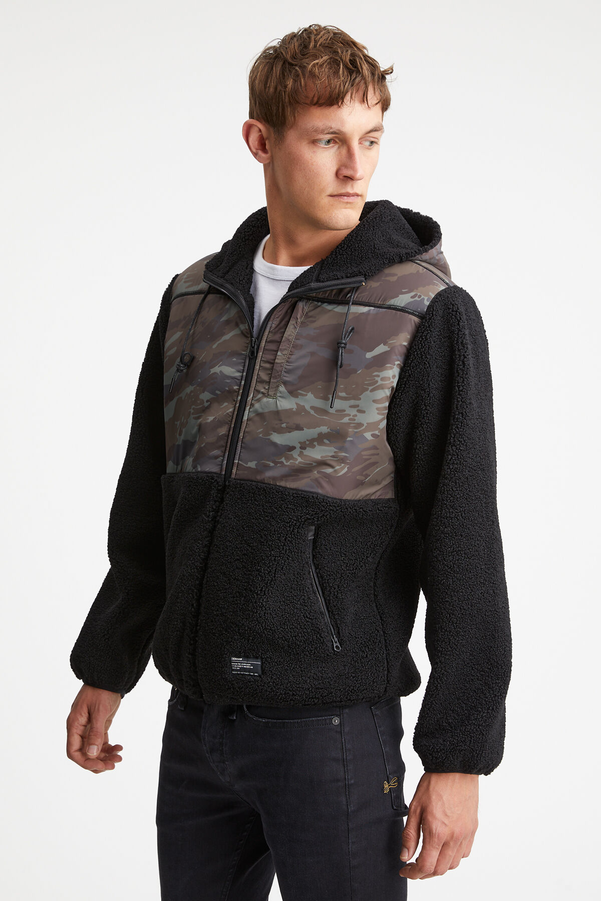 ADAMS JACKET Camo Fleece - Regular Fit
