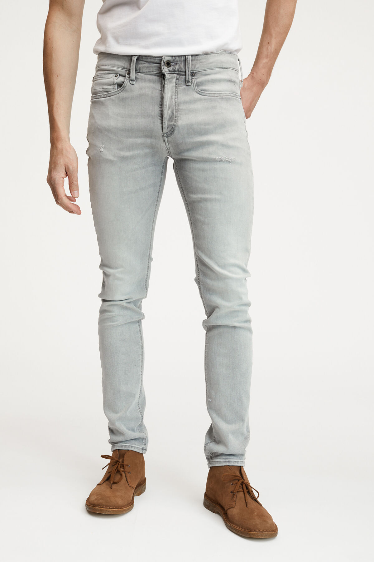 BOLT Summer Grey Denim - Skinny Fit