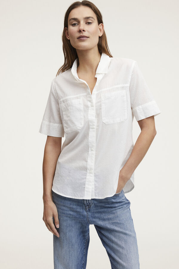 DENISE SHIRT Cotton Voile - Regular Fit