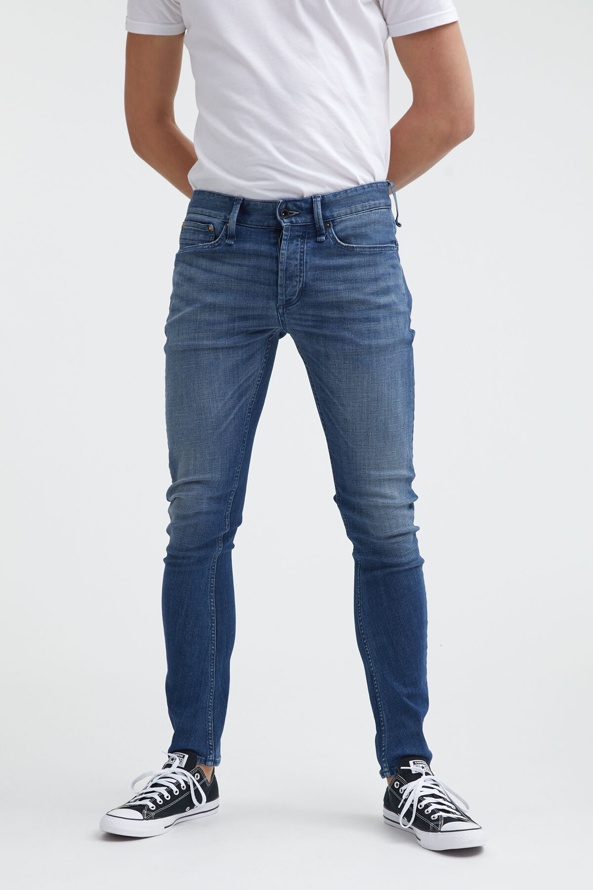 BOLT WELT Indigo Cast Denim - Skinny Fit