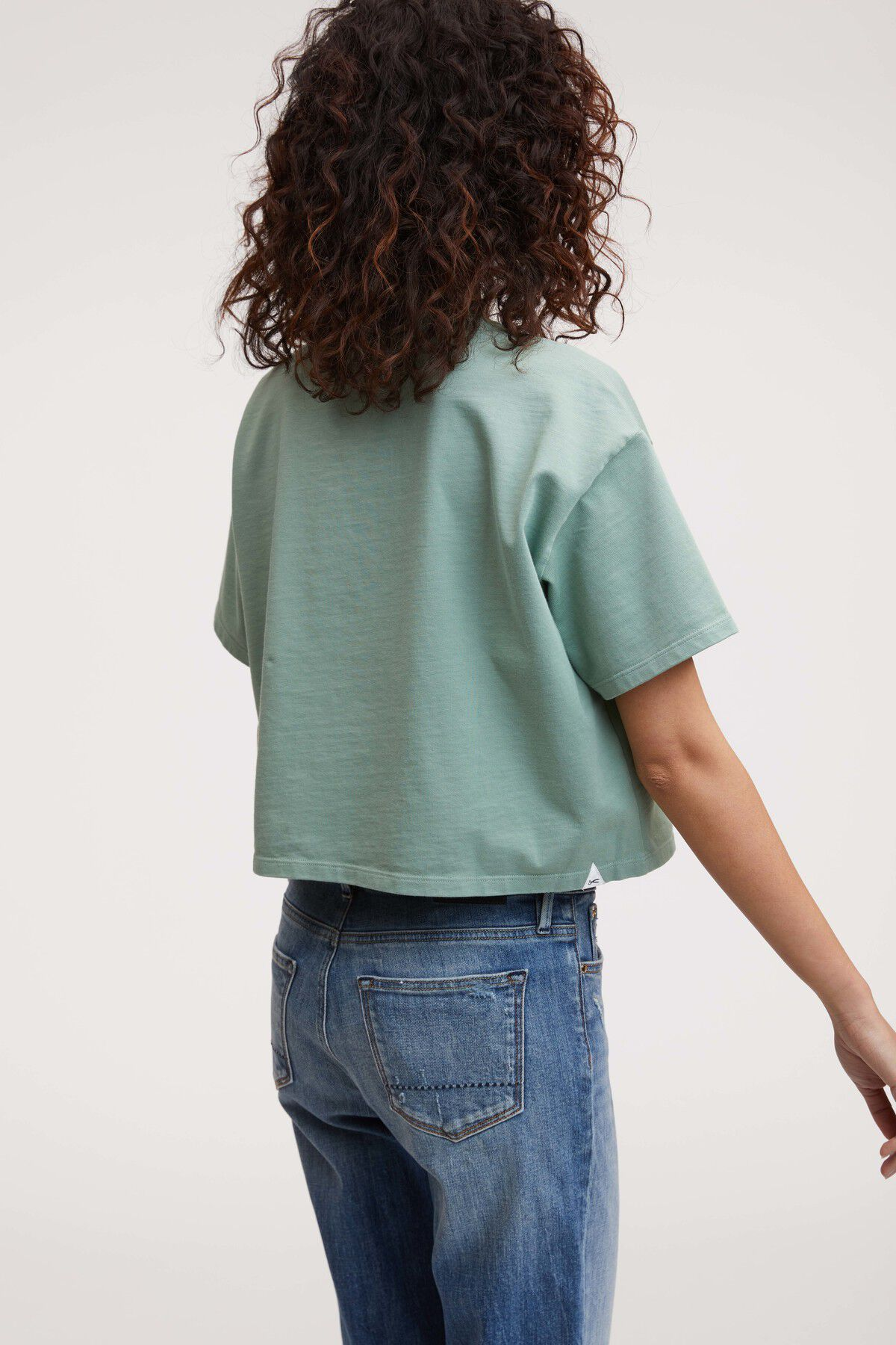 UPLANCE TEE Heavy Cotton Jersey - Boxy, Cropped Fit