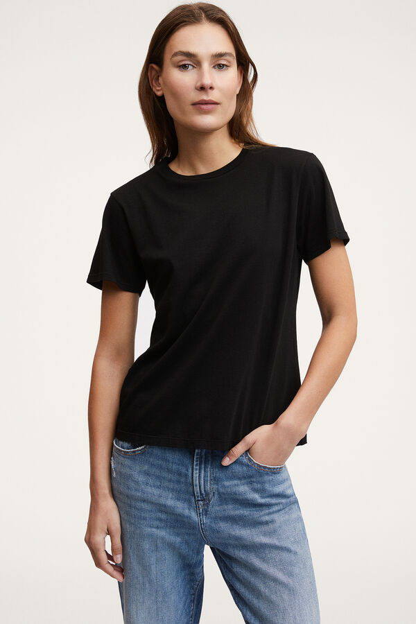 CAMELLIA TEE Lightweight Cotton - Regular Fit