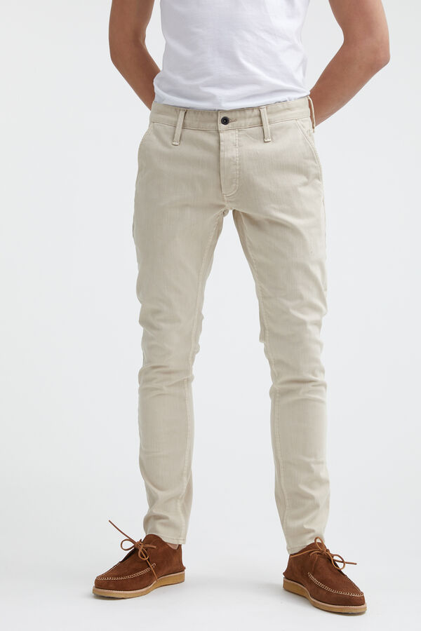 YORK Cotton & Tencel Blend Chino - Slim Tapered Fit