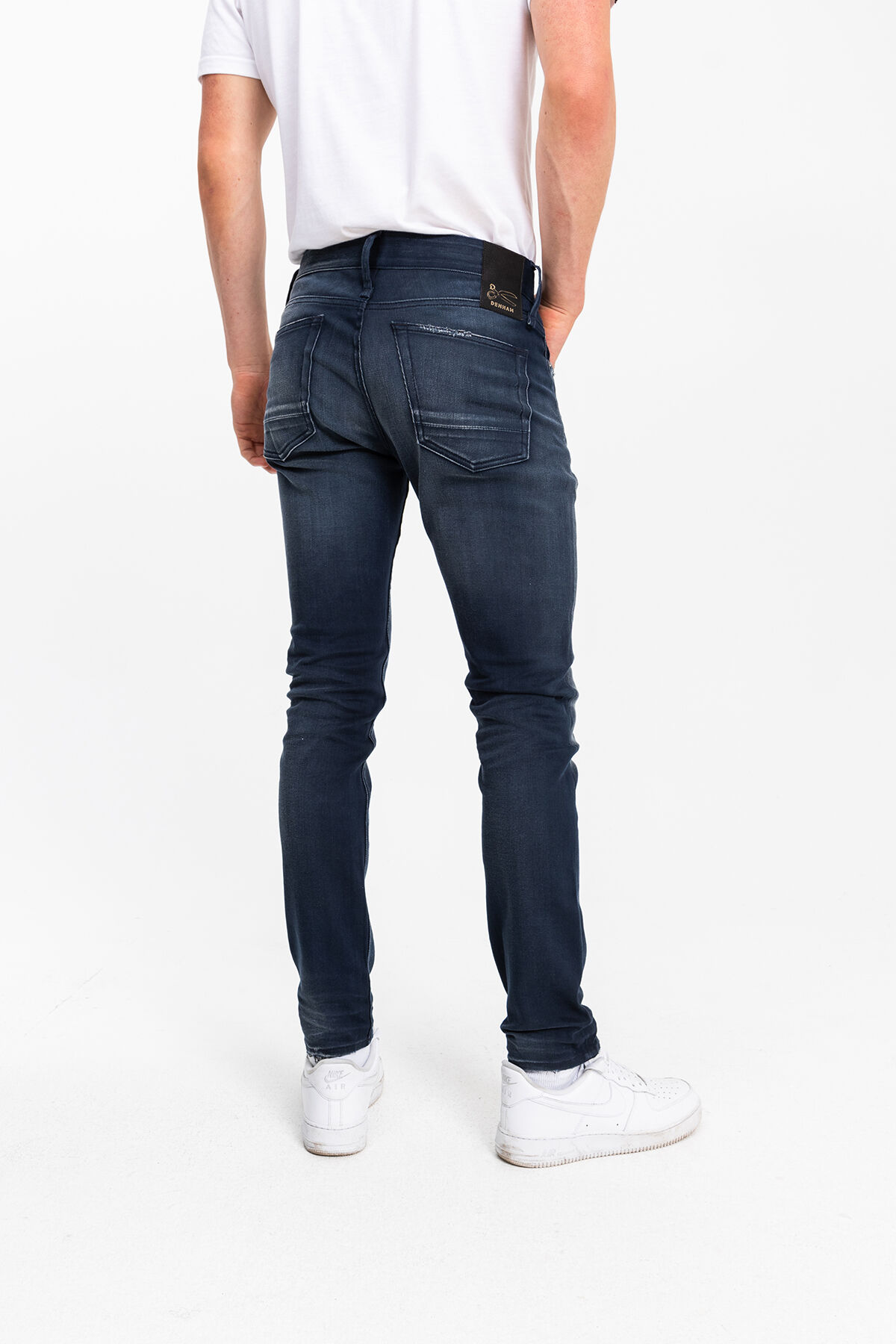 BOLT Left-hand Cotton & Modal Denim - Skinny Fit
