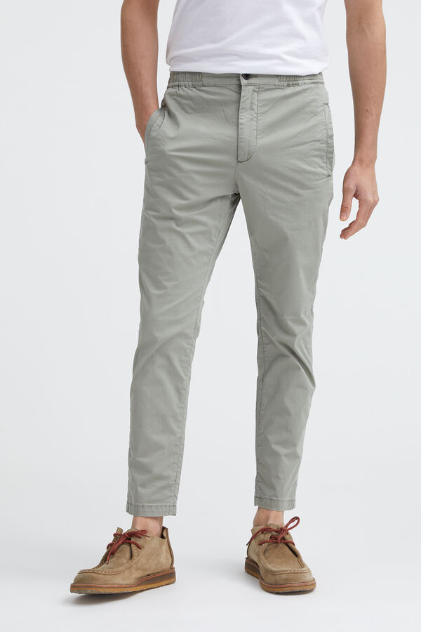 CARL PANT Compact Cotton - Slim, Tapered Fit