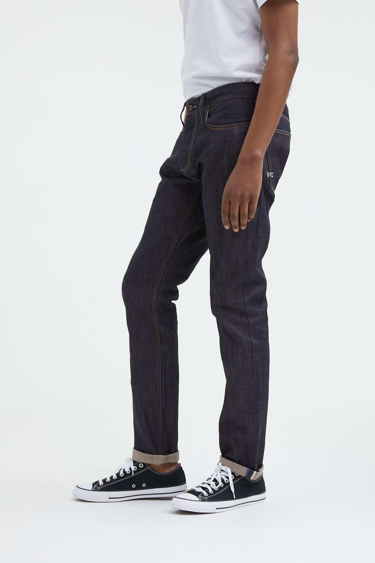 RAZOR Virgin Black Selvedge Denim - Slim Fit