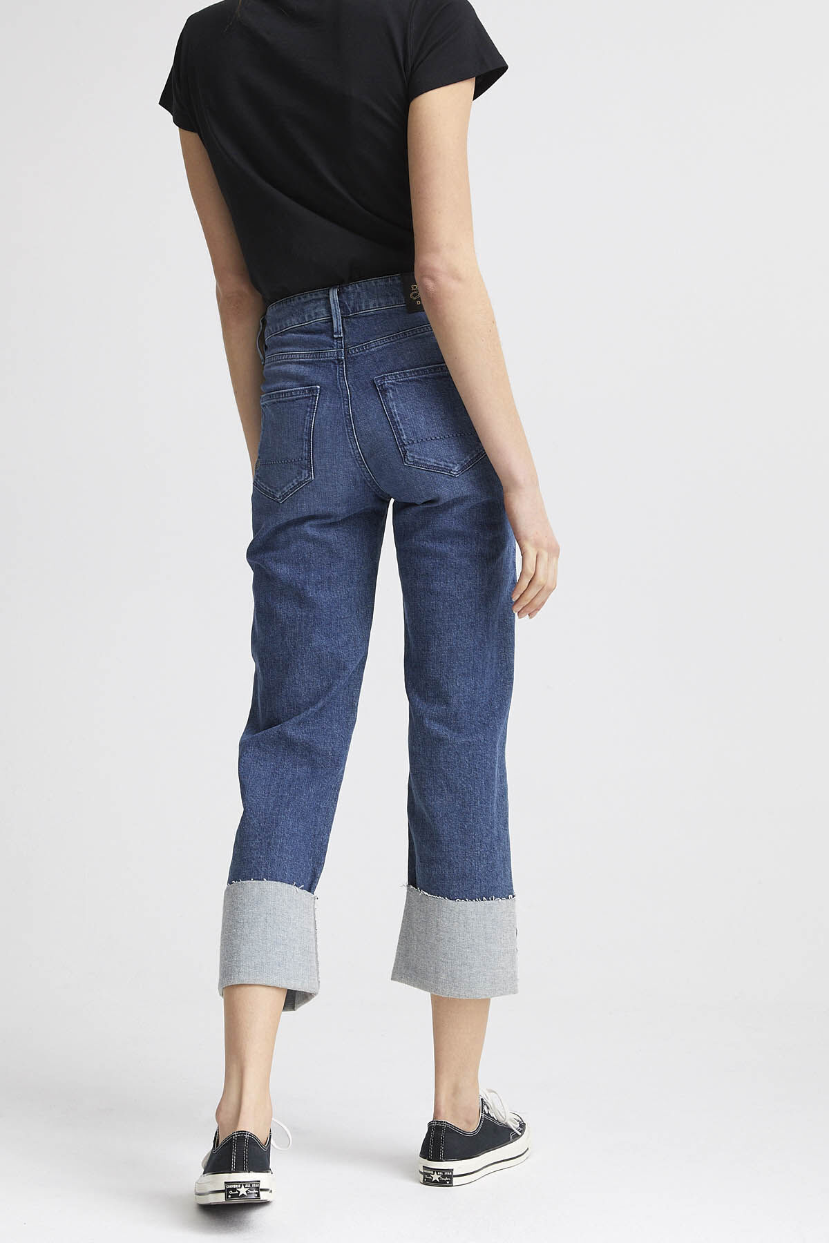 KELLY Indigo Organic Cotton Denim - Wide Leg Fit