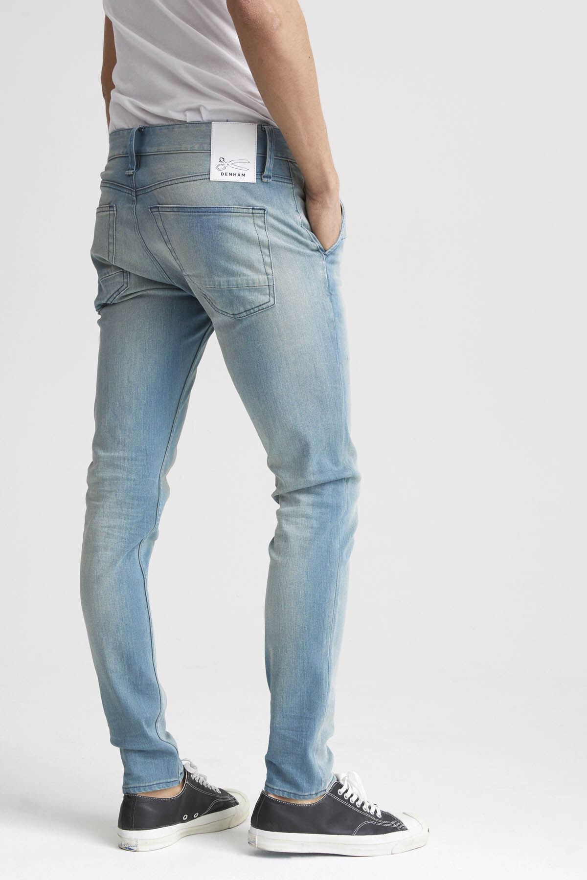 YORK Subtle Fade Denim - Slim, Tapered Fit