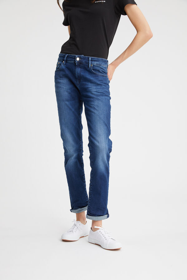 MONROE GOTS Organic Cotton Denim -  Girlfriend Fit