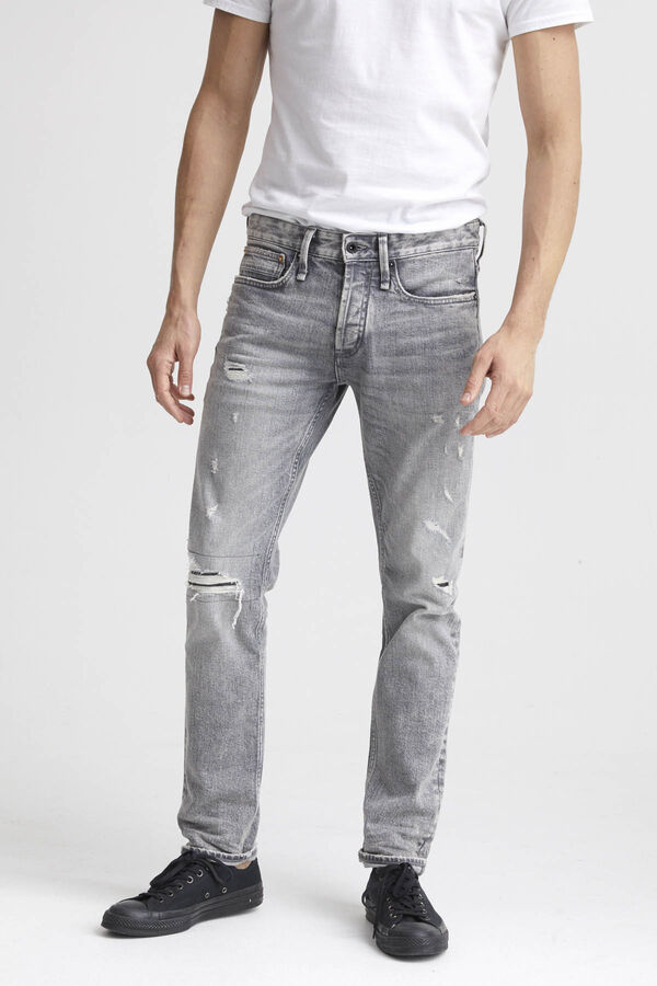 RAZOR Ripped & Repaired Denim - Slim Fit
