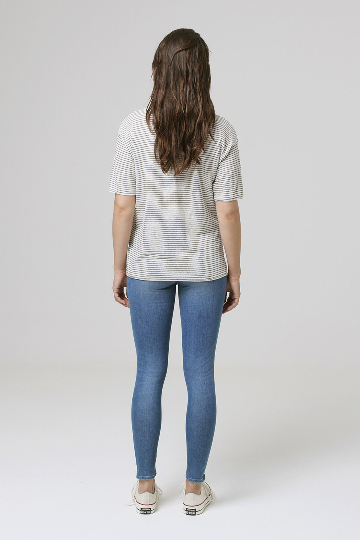 CANYON TEE Yarn-dyed linen - Regular Fit
