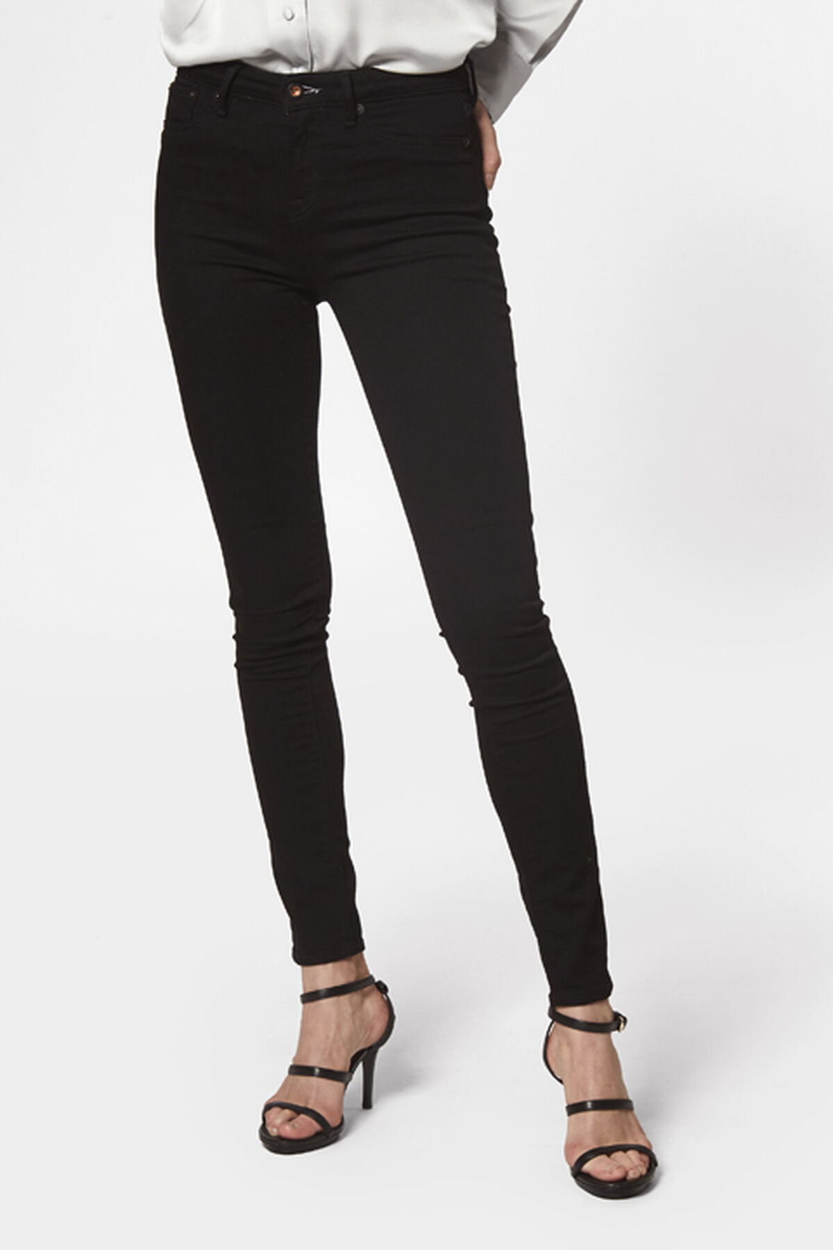 Needle High Skinny Fit Jeans - B30