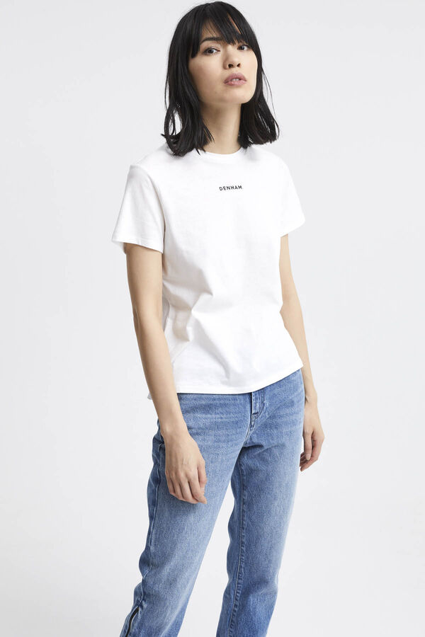 LOGO CAMELLIA TEE Cotton Jersey - Regular Fit