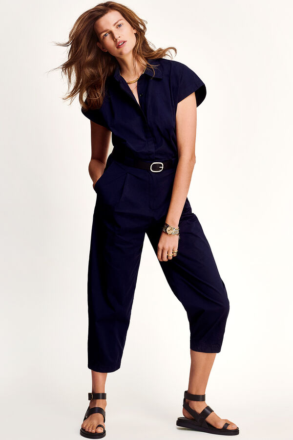 MIA JUMPSUIT Crisp Stretch Poplin - Slim Fit