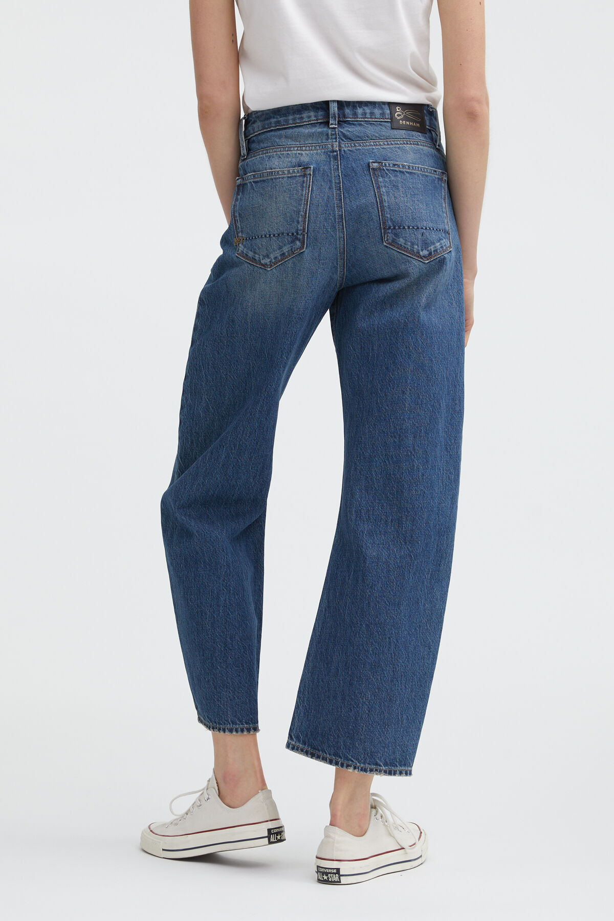 BARDOT WIDE Organic Cotton Denim - High-rise, Loose Fit
