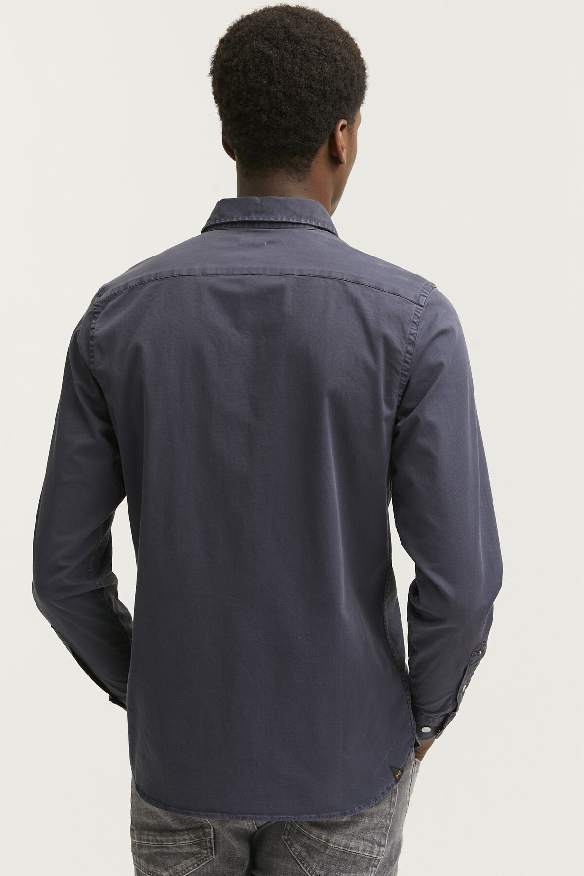 HARRISON SHIRT Lightweight Cotton Twill - Slim Fit