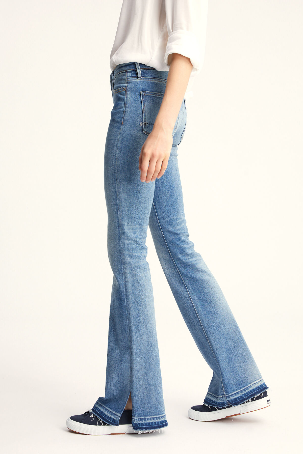 FARRAH 70s Denim Wash - Flare Fit