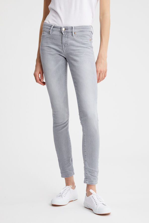 SPRAY Organic Cotton Denim - Mid-rise Tight Fit