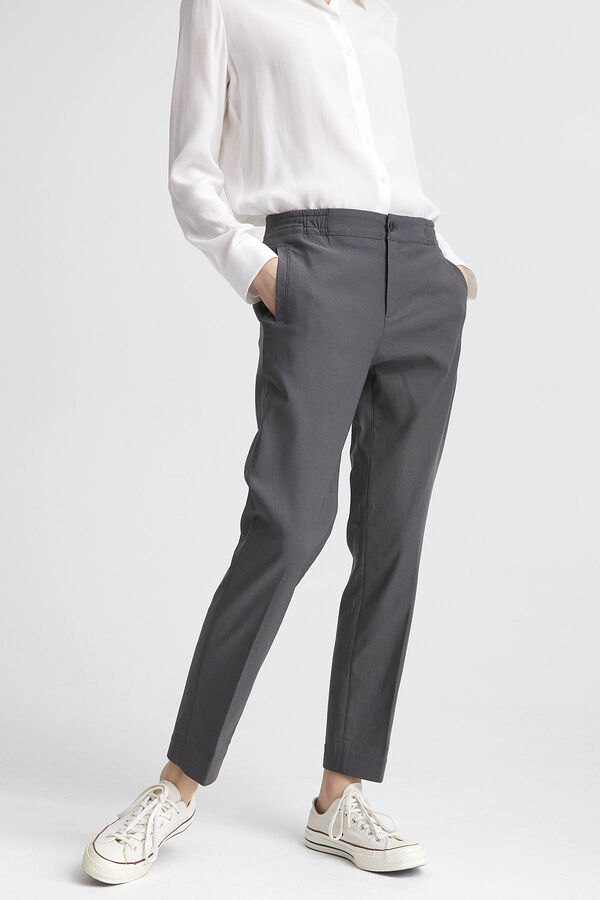 PRESTON PANT Viscose Blend - Tailored, Straight Fit