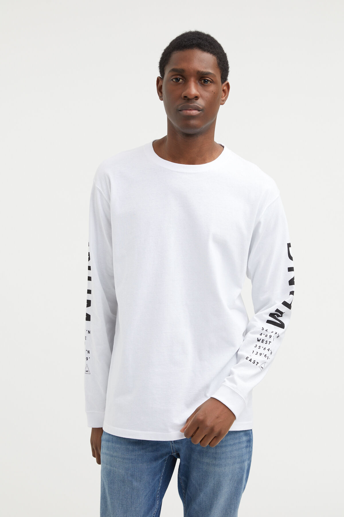 SUKA LS TEE Crane Embroidery - Regular Fit