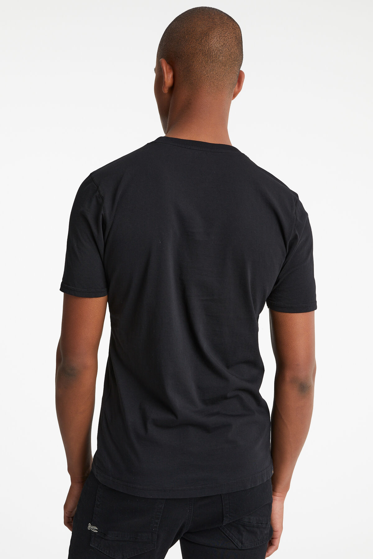 DENHAM APPLIQUE TEE Garment Dyed - Slim Fit
