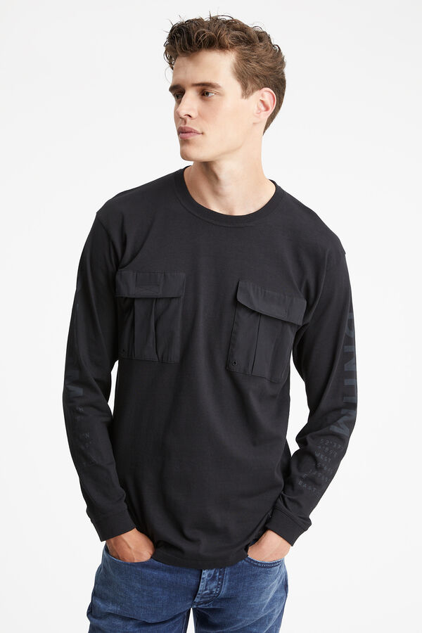 THOMAS COMBAT TEE Heavy-weight Cotton Jersey - Boxy Fit