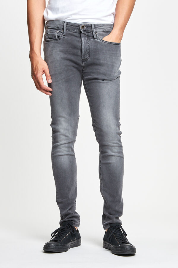 BOLT Mid-grey Soft worn - Skinny Fit