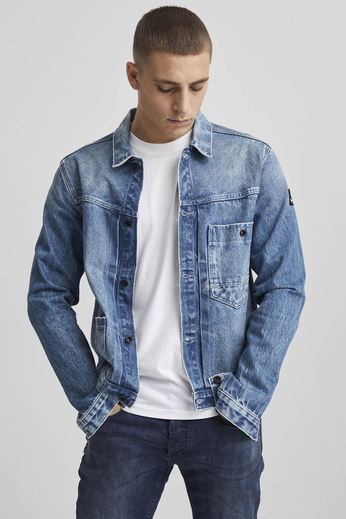 HOMAGE JACKET Abrasions - Boxy Fit