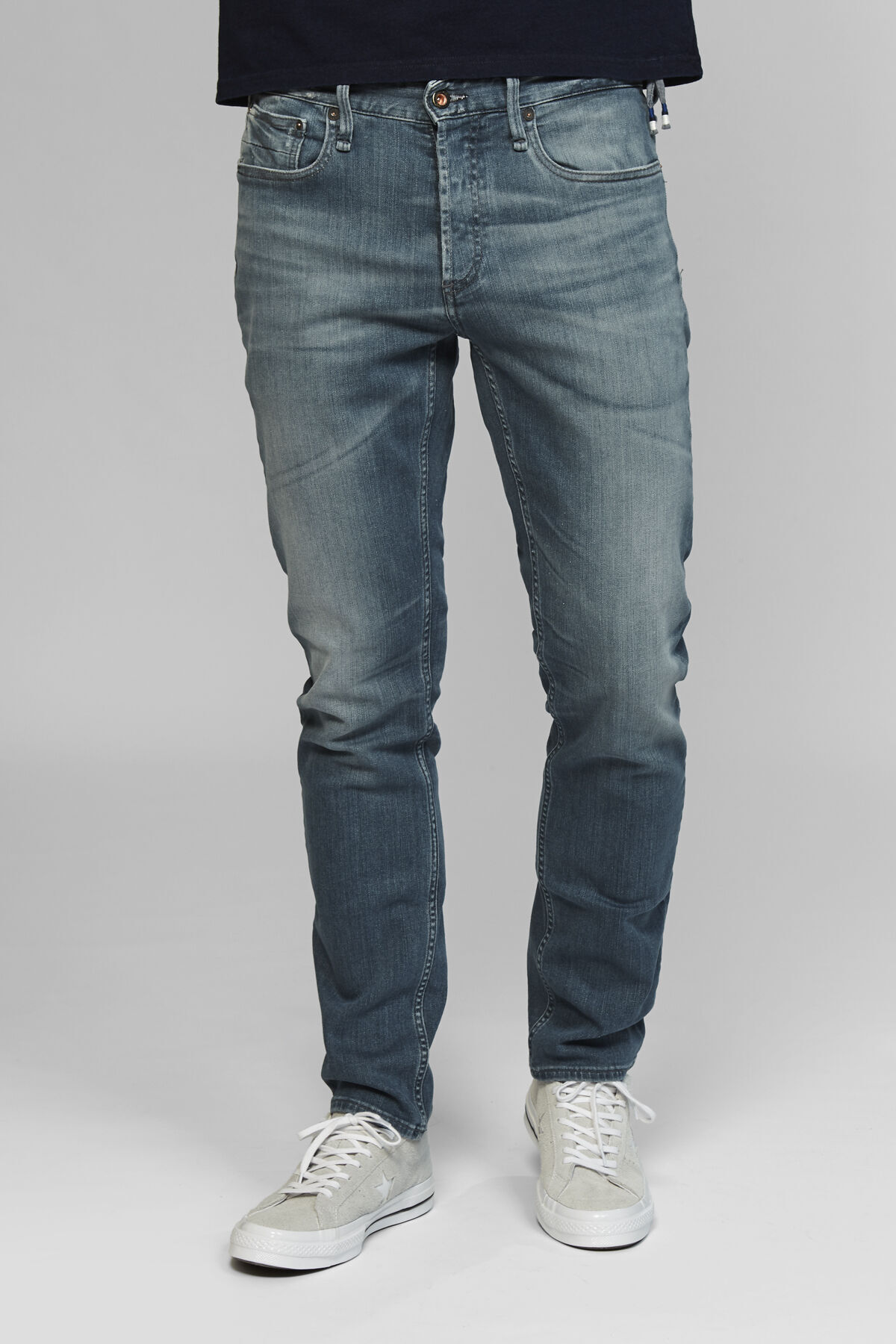 RAZOR Naturally Faded Indigo Denim - Slim Fit