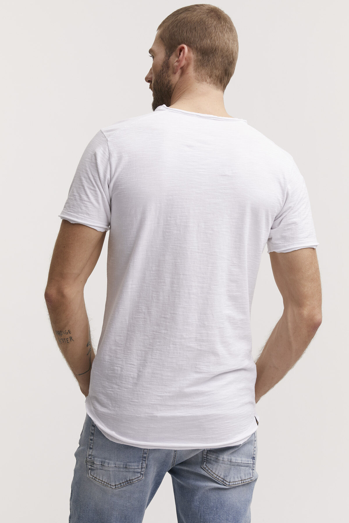 INGO RAW EDGE TEE Slub Cotton - Slim Fit