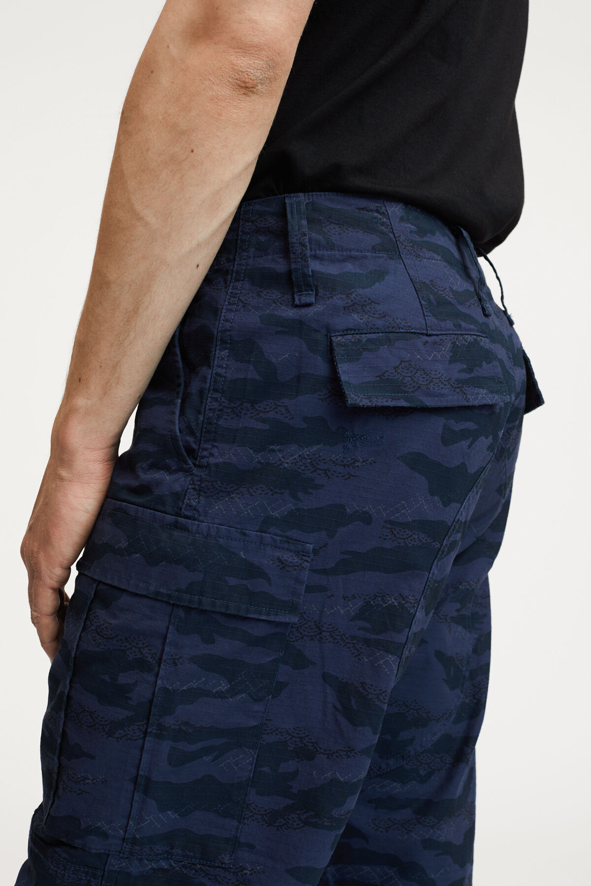 NATO PANT COTTON RIPSTOP CAMOUFLAGE PRINT - Wide Fit