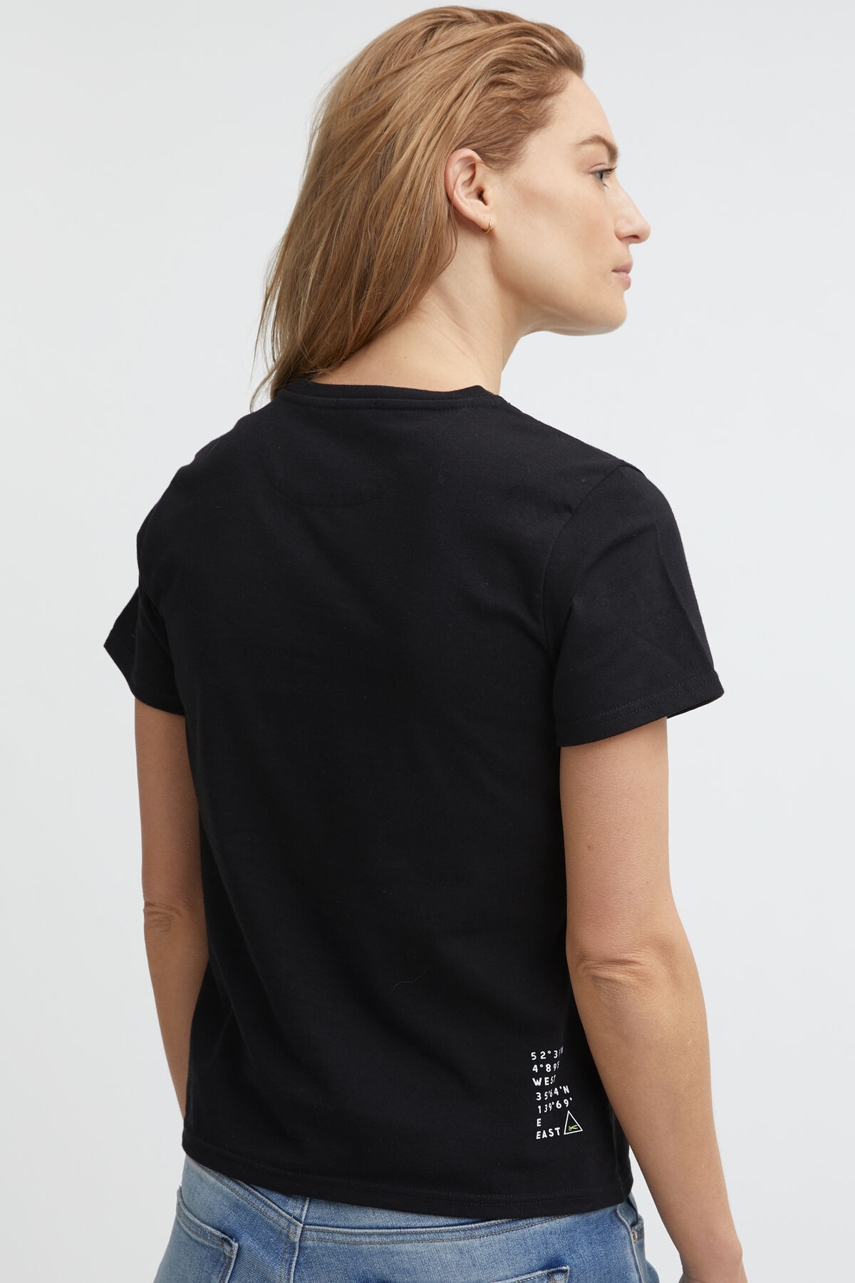 WOMENS 95 TEE DENHAM Logo Print - Regular Fit