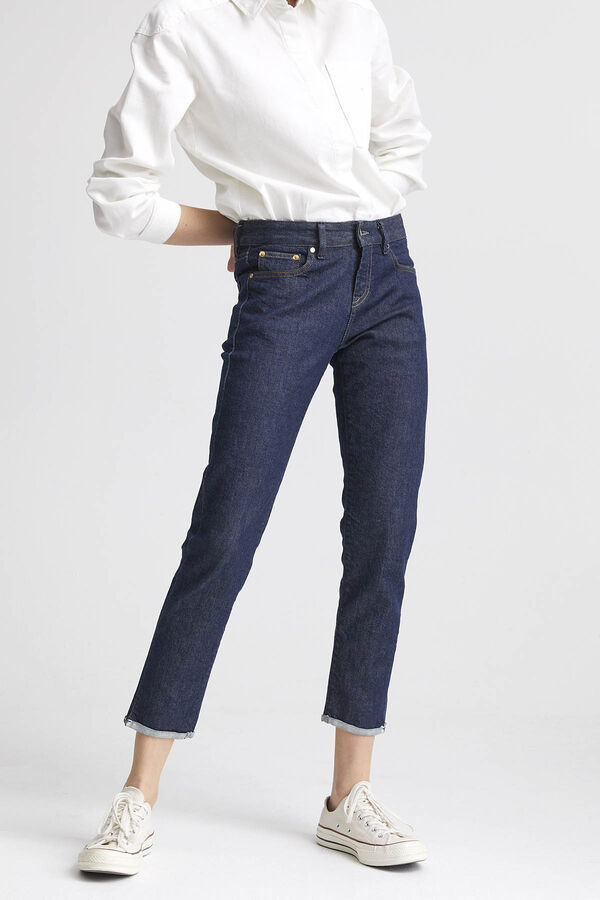 LIZ ANKLE Signature Selvedge Denim - Straight Fit