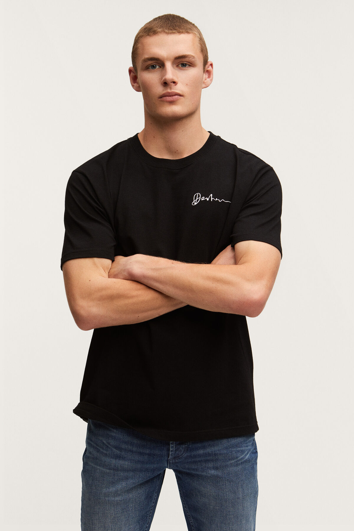MARLOW REGULAR TEE Contract Embroidery - Regular Fit